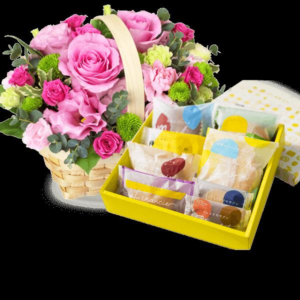 5月の誕生日セット ピンクバラ