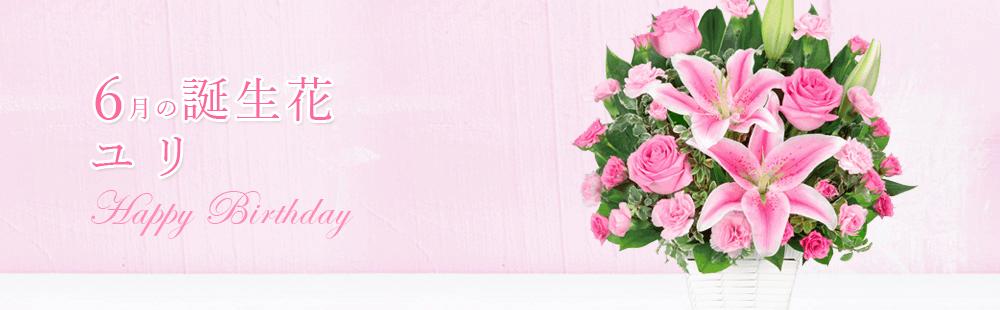 花キューピットの6月の誕生花