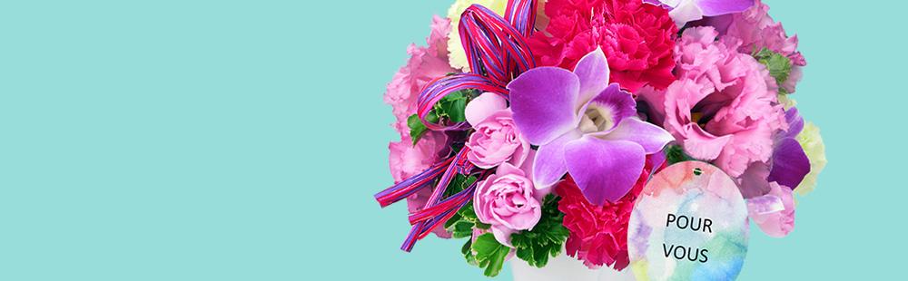 花キューピットの夏の花贈り特集2020