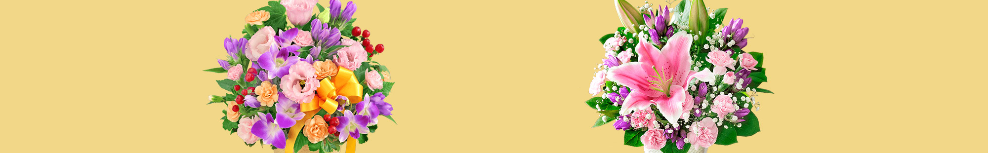 敬老の日の花束・アレンジメント特集2021