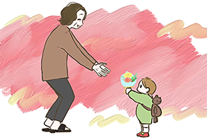 母に花を贈り続けている私たち(著者:chiiko)