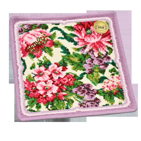 【フェイラー】ニューバルベーラ ハンカチ|花キューピットの敬老の日 お花と雑貨のセット特集 2020