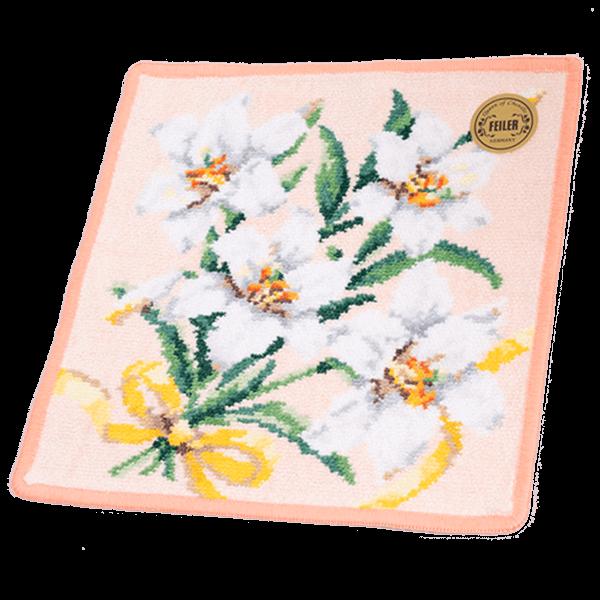 【フェイラー】ディアフラワー7 ハンカチ|花キューピットの敬老の日におすすめ!人気のプレゼント特集 2021