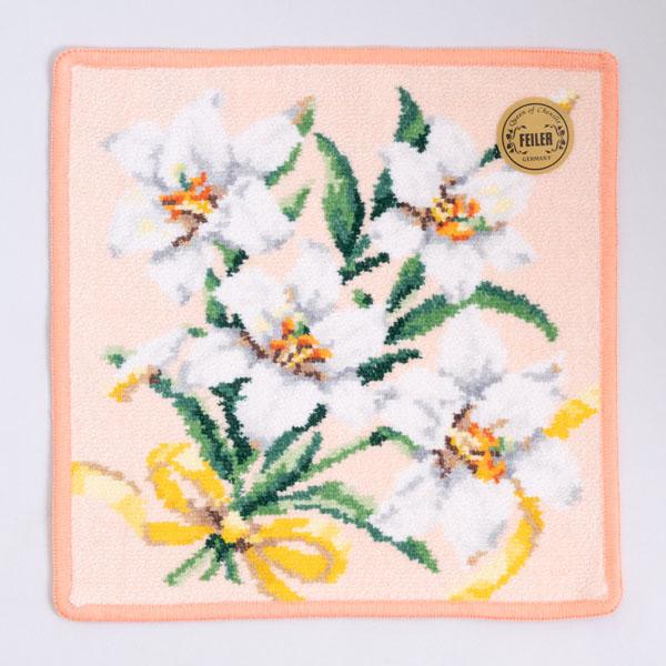 美しいユリの花束がモチーフ