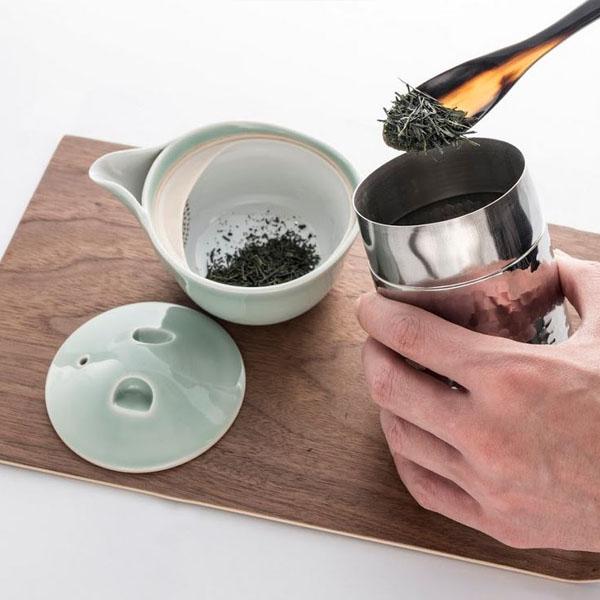 厳選された茶葉をオリジナルブレンドした逸品です。