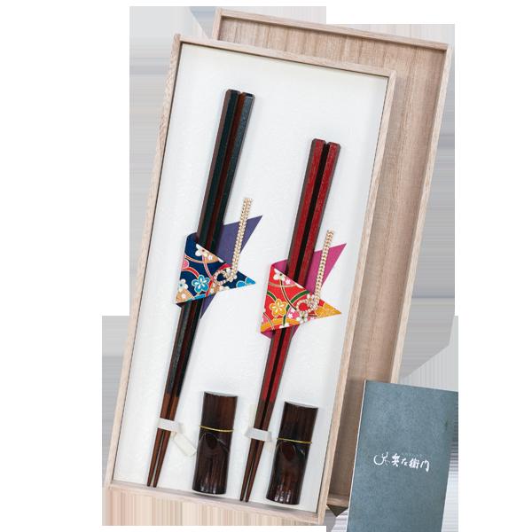 高品質な天然木を使用六角箸 夫婦箸セット(桐箱入)|花キューピットの敬老の日におすすめ!人気のプレゼント特集 2019
