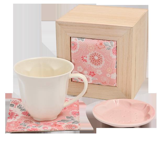 華うつし マグカップセット|花キューピットの敬老の日 お花と雑貨のセット特集 2020