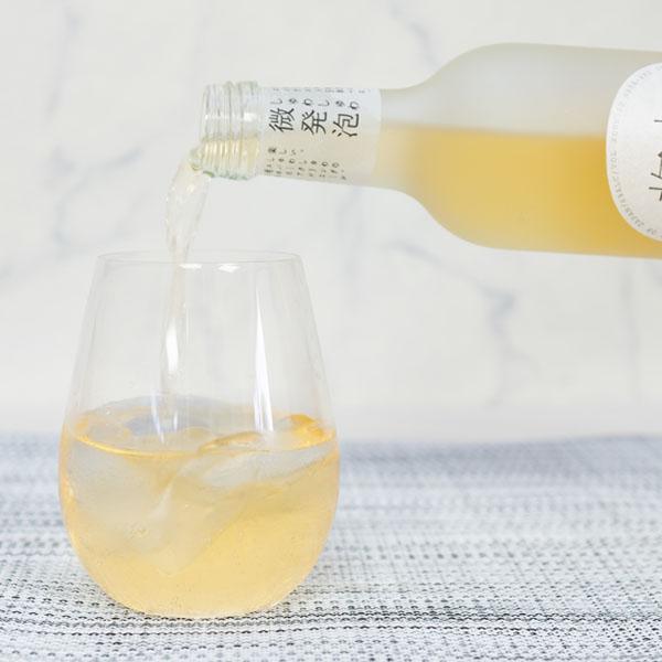 梅酒はすっきりとさわやかな味わい