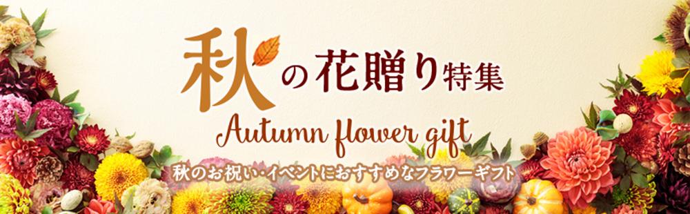 秋の花贈り