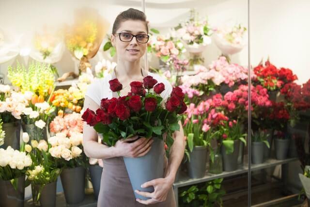 お花屋さんでの注文の仕方