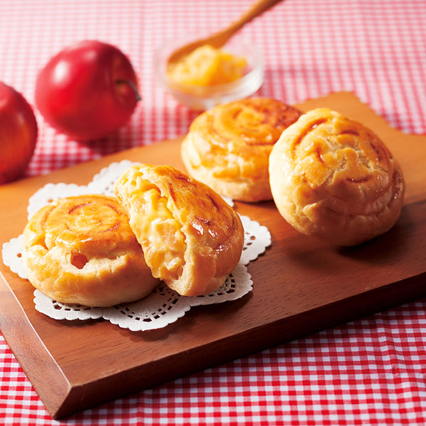 素材の魅力を引き出したアップルパイ
