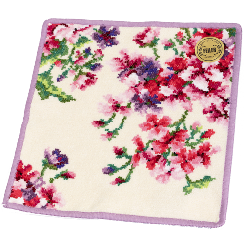 【フェイラー】 ゼラニウム ハンカチ|花キューピットの母の日におすすめ!人気のプレゼント特集 2020