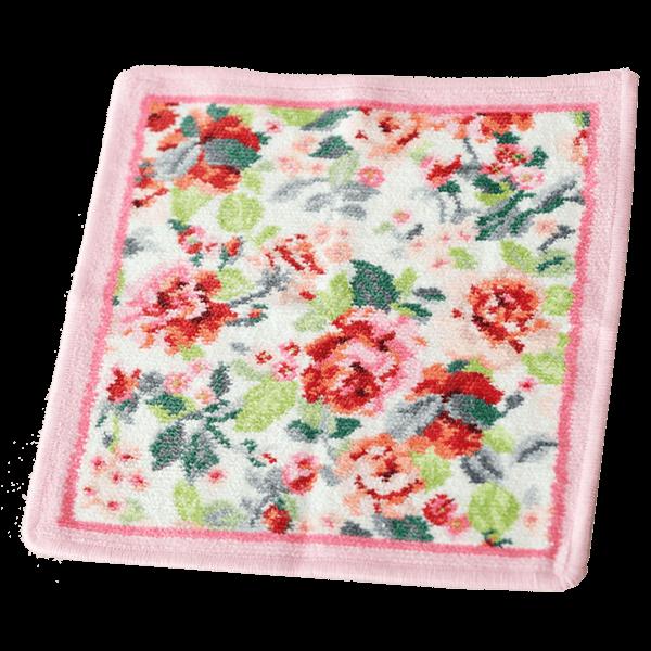 【フェイラー】イングリッシュローズハンカチ|花キューピットの母の日におすすめ!人気のプレゼント特集 2019