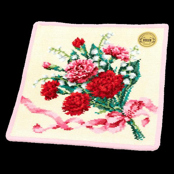 【フェイラー】ディアフラワー5 ハンカチ|花キューピットの母の日におすすめ!人気のプレゼント特集 2021