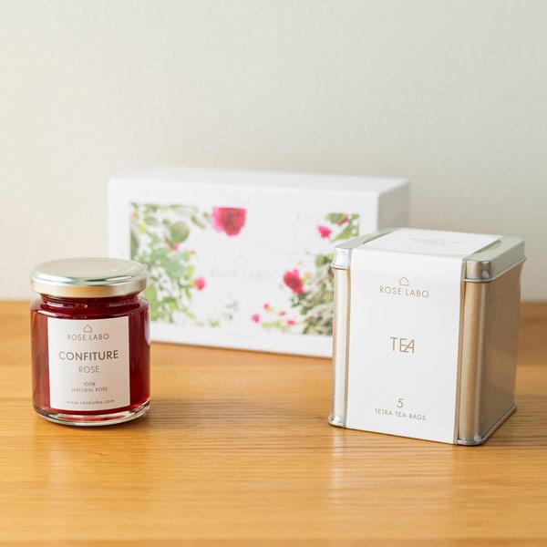 バラの花びらのジャム&紅茶|母の日プレゼント特集2019