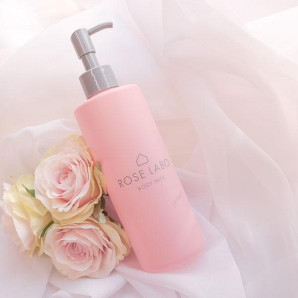 保湿力に優れた「食べられるバラ」のボディミルク