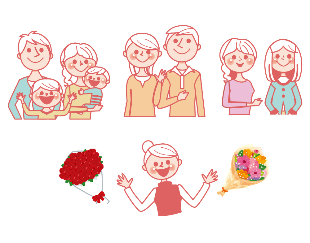 家族に、恋人に、友達に…もっと「ありがとう」を伝えよう|母の日プレゼント特集2019