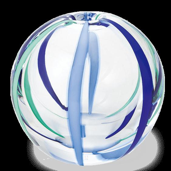 【津軽びいどろ】一輪挿し(夏空)|花キューピットの母の日におすすめ!人気のプレゼント特集 2019