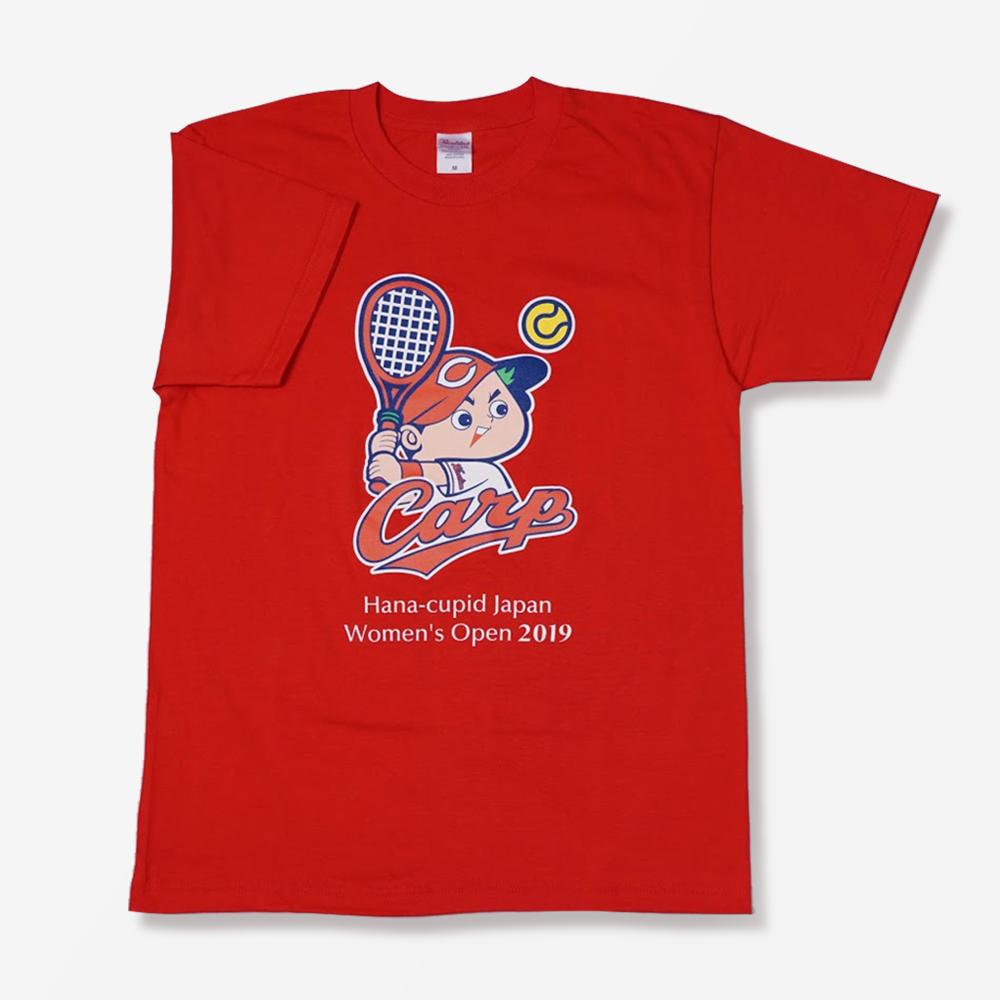花キューピットオープン×広島カープコラボTシャツ