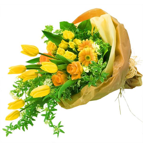 【チューリップ】チューリップの花束 111021 |花キューピットのチューリップ特集