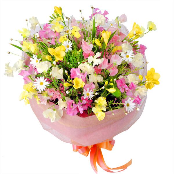 【1月の誕生花(スイートピー等)】ミックスの花束