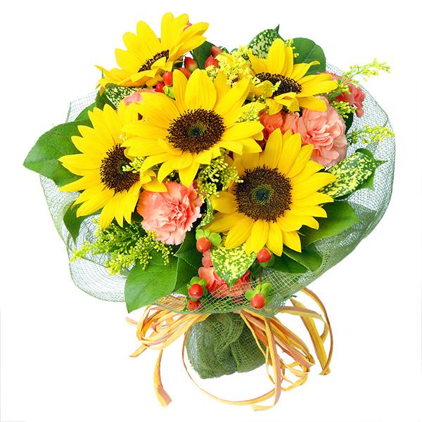 【ひまわり特集】ひまわりブーケ 112009 |花キューピットのひまわり特集2020