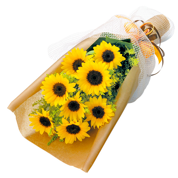 【誕生日フラワーギフト・ひまわり】ひまわりの花束