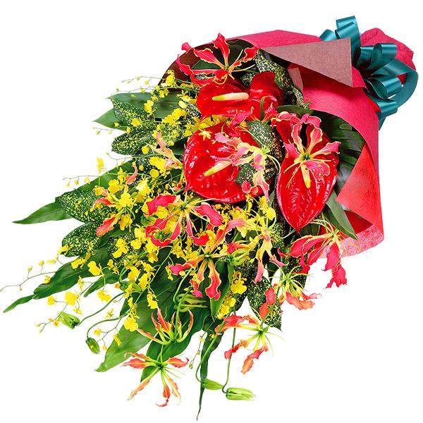 【花束(法人)】グロリオサの花束