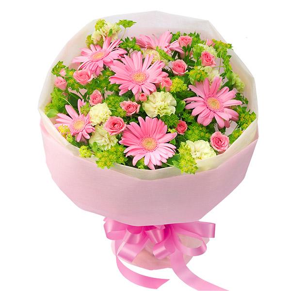 【誕生日フラワーギフト】ガーベラのブーケ(ピンク)
