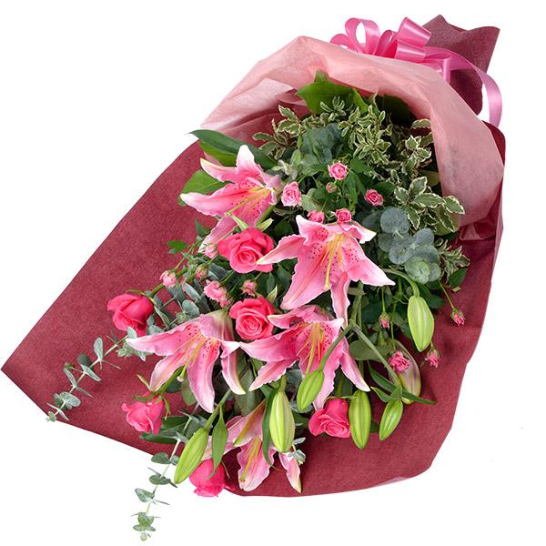 【誕生日フラワーギフト・ユリ】ユリの花束