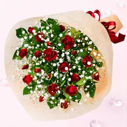 【誕生日フラワーギフト】スプレーバラの花束