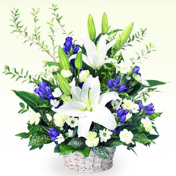 お供えのアレンジメント 118029 |花キューピットの2019 お盆(新盆・初盆)