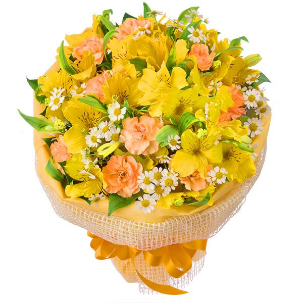 【4月の誕生花(アルストロメリア等)】アルストロメリアのイエローブーケ
