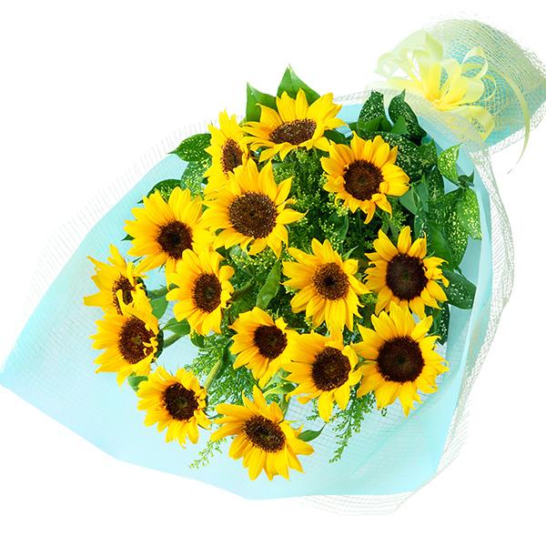 【誕生日フラワーギフト】ひまわりの花束