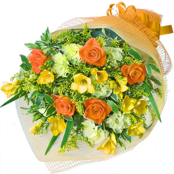 【春のお祝い ランキング】フリージアの花束