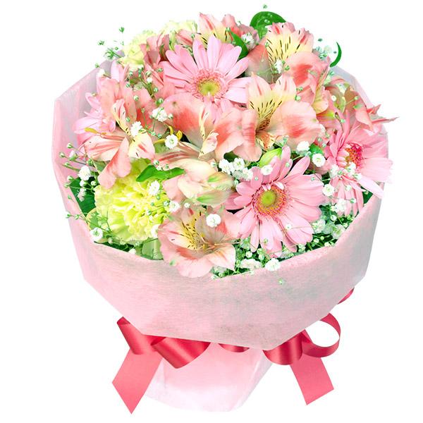 【4月の誕生花(アルストロメリア等)】ピンクアルストロメリアのブーケ