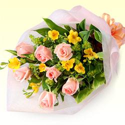 【お祝い】フリージアの花束