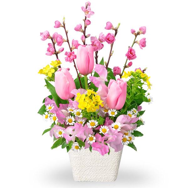 【ひな祭り】ひなまつりアレンジメント 511226 |花キューピットのひな祭り