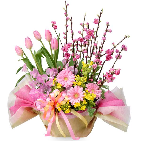 【ひな祭り】ひなまつりのひし餅アレンジメント 511227 |花キューピットのひな祭り