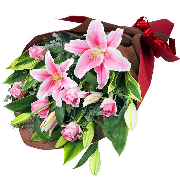 【花束(法人)】ユリの花束