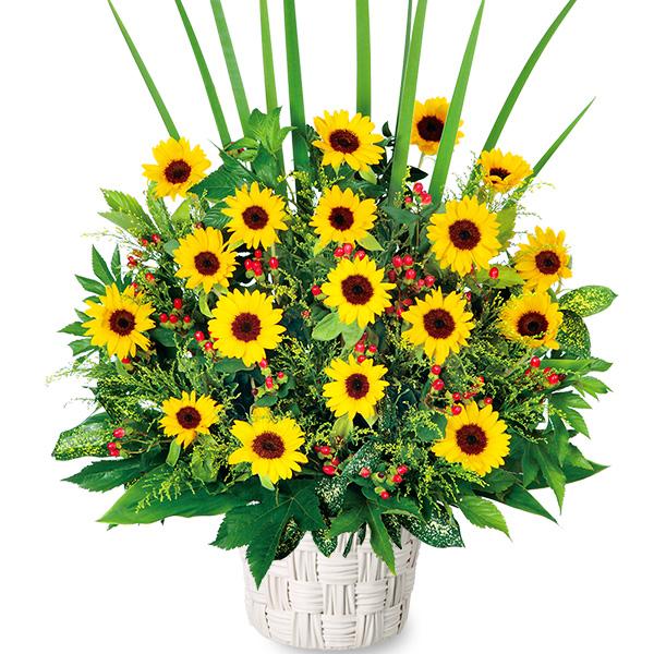 【父の日】ひまわりの華やかアレンジメント 511384 |花キューピットの父の日フラワーギフト特集2020