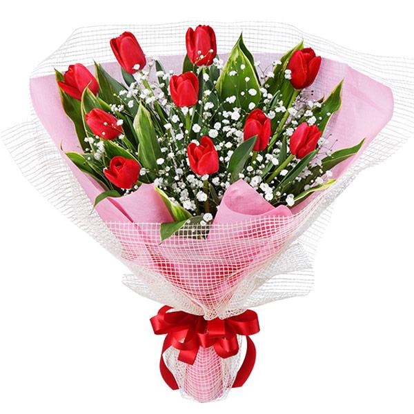 【退職祝い】チューリップの花束