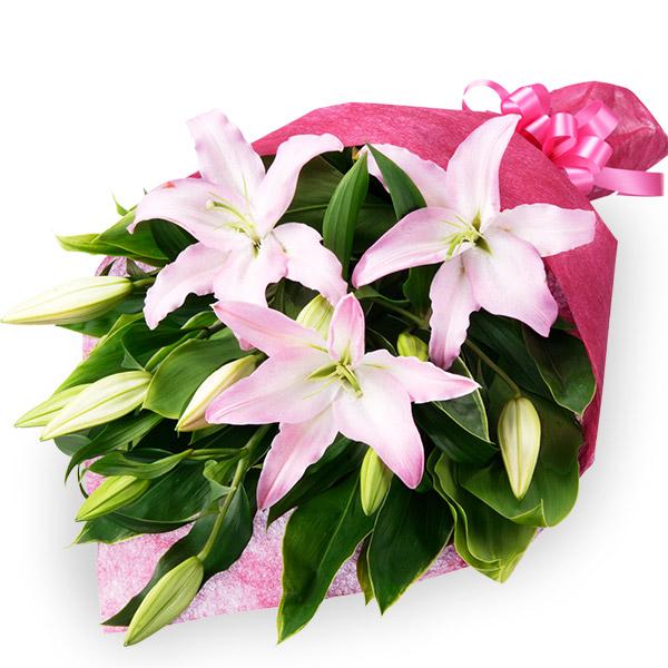 【誕生日フラワーギフト】ユリの花束