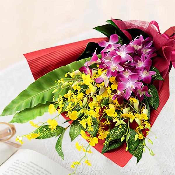 【誕生日フラワーギフト】デンファレの花束