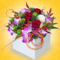 おまかせフラワー花束|お正月プレゼント・ギフト2021