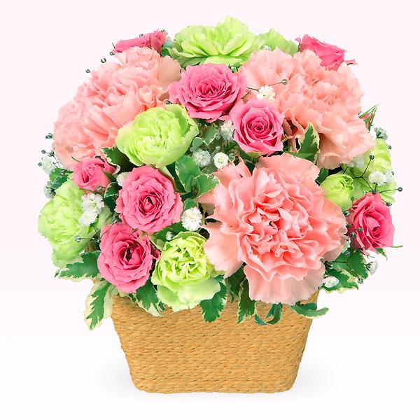 【誕生日フラワーギフト】ピンクアレンジメント