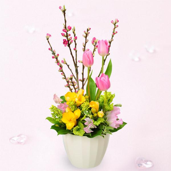 おまかせフラワー花束|フラワーバレンタイン2020