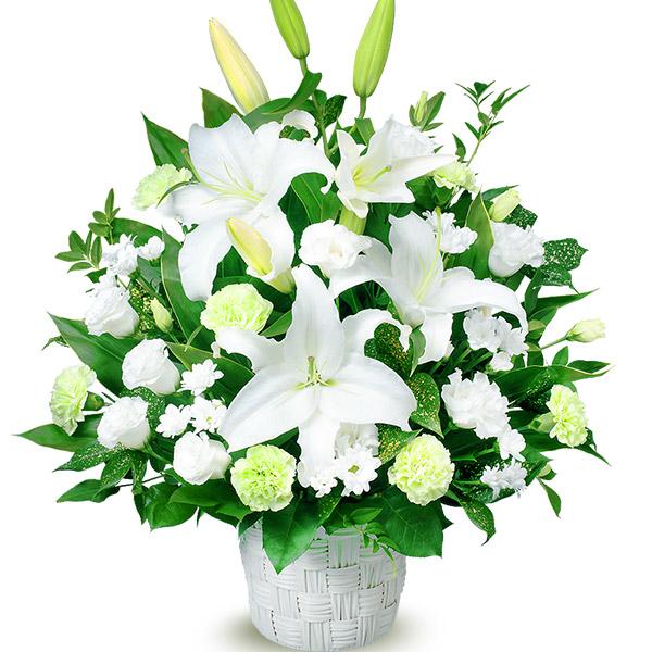 【通夜・葬儀に贈る献花】お供えのアレンジメント