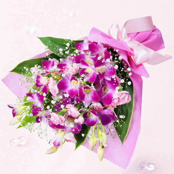 【花束(法人)】デンファレの花束