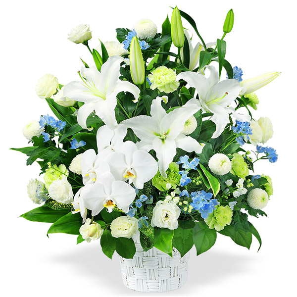 【四十九日法要以降に贈る献花】お供えのアレンジメント